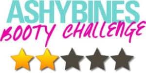 ashy bines booty challenge