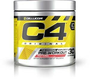 C4 by Cellucor preworkout