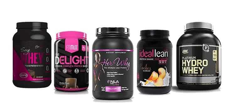 Top 5 Protein Powders For Woman
