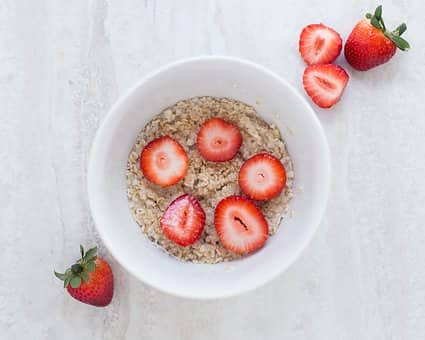 oatmeal after workout