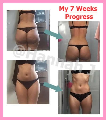 Before and After Bikini Body Workouts