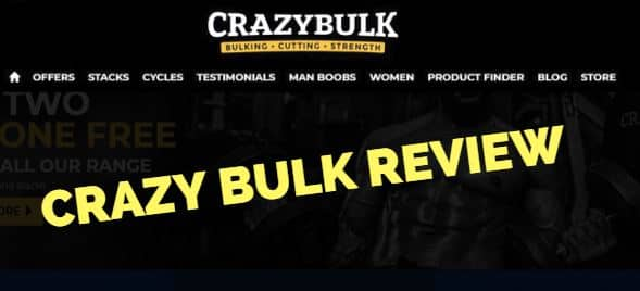 Crazy Bulk Review Featured Image