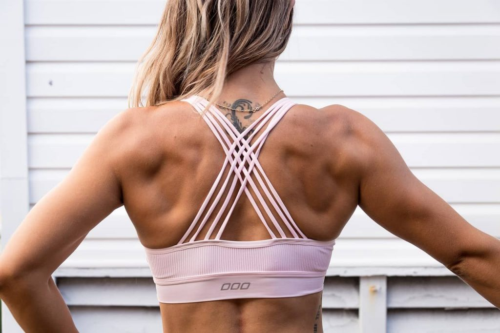 Abby Back Muscles